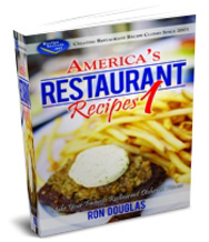 Americas Restaurant Recipes Cookbook