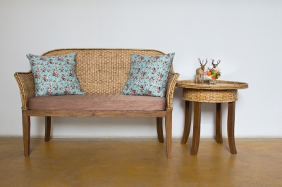 Simple Loveseat and Table